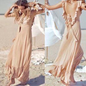Vintage Spell Woodstock Boho Bella Frill Dress